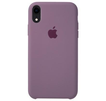 Чехол Silicone Case для iPhone XR черничный