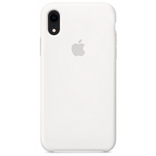 Чехол Silicone Case для iPhone XR белый