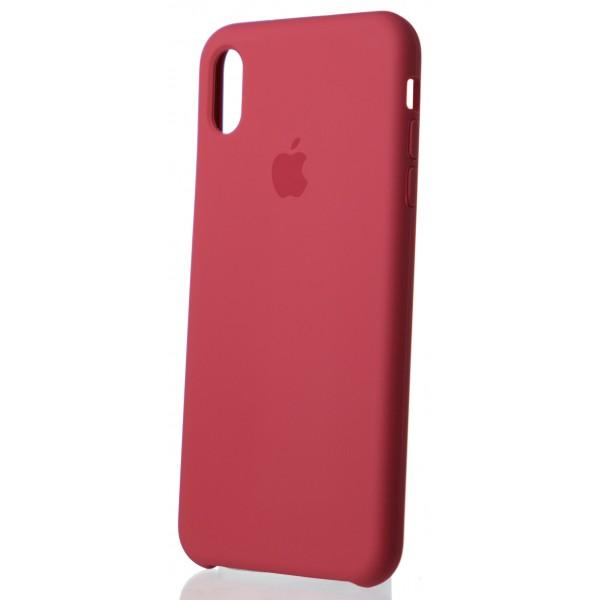 Чехол Silicone Case для iPhone Xs Max камелия