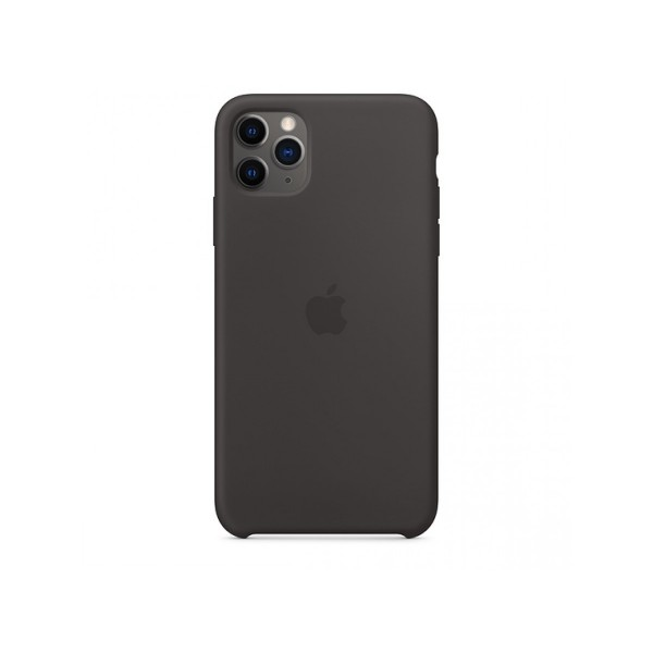Чехол Silicone Case iPhone 11 Pro черный (c)