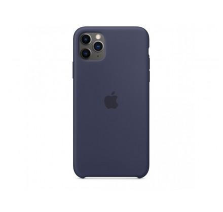 Чехол Silicone Case iPhone 11 Pro Max темно-синий (с)