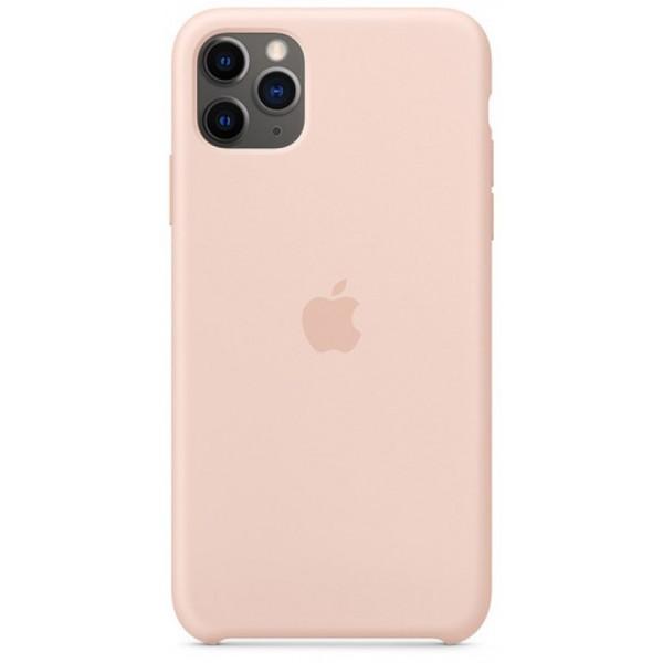 Чехол Silicone Case для iPhone 11 Pro Max светло-розовый
