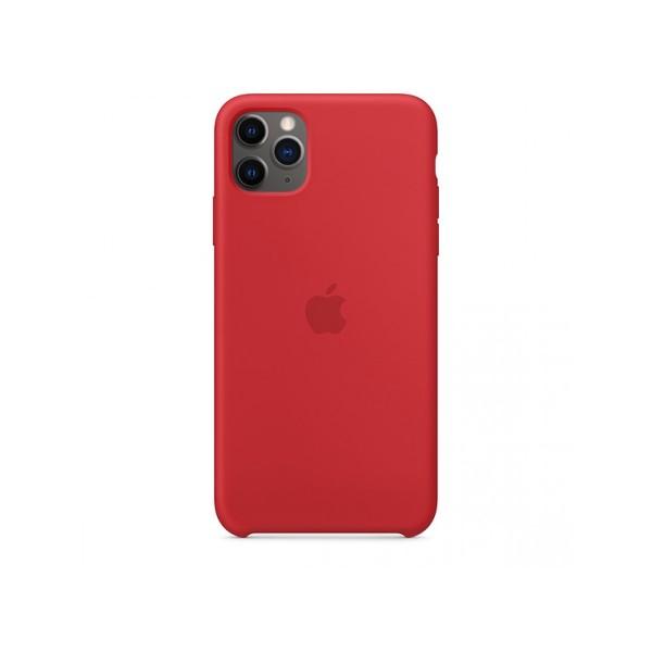 Чехол Silicone Case iPhone 11 Pro красный (с)