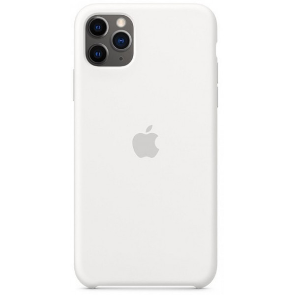 Чехол Silicone Case для iPhone 11 Pro белый