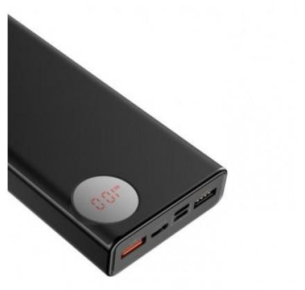 Power Bank Baseus с цифровым дисплеем 20000mAh