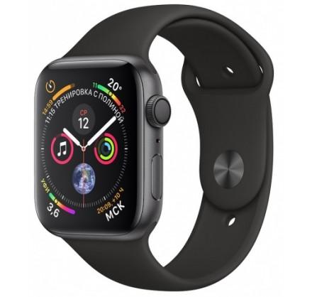 Apple Watch Series 4, 44 мм, корпус из алюминия цвета «...
