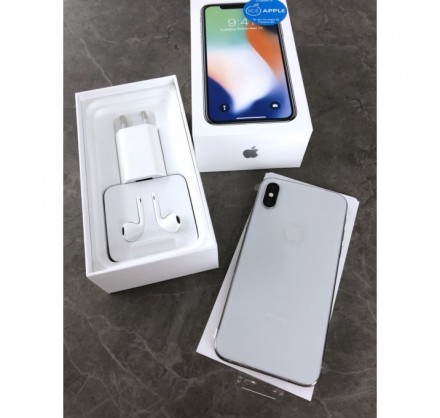 iPhone X 256gb Silver (новый)