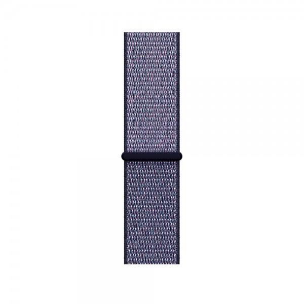 Браслет Apple Watch 42/44мм Спортивная петля (синий)