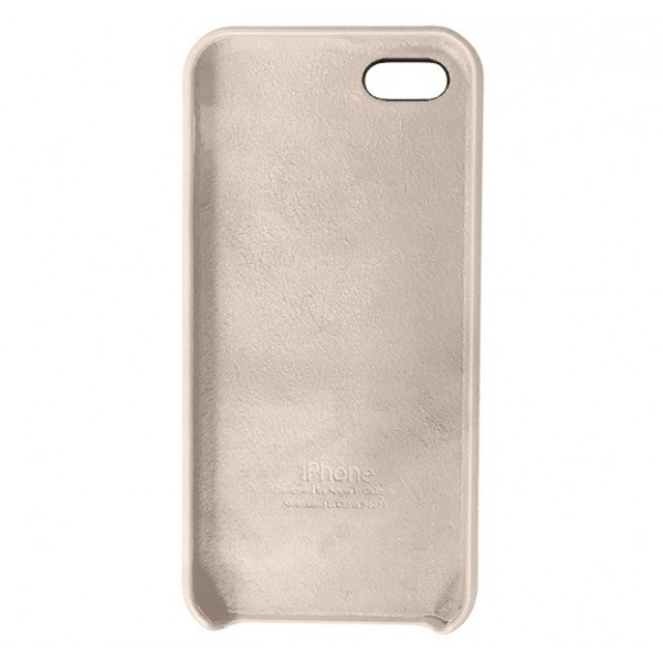 Чехол Silicone Case iPhone 5s/SE светло-розовый