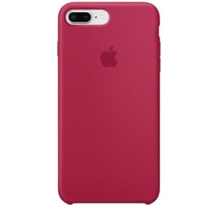 Чехол Silicone Case iPhone 7 Plus/8 Plus малиновый