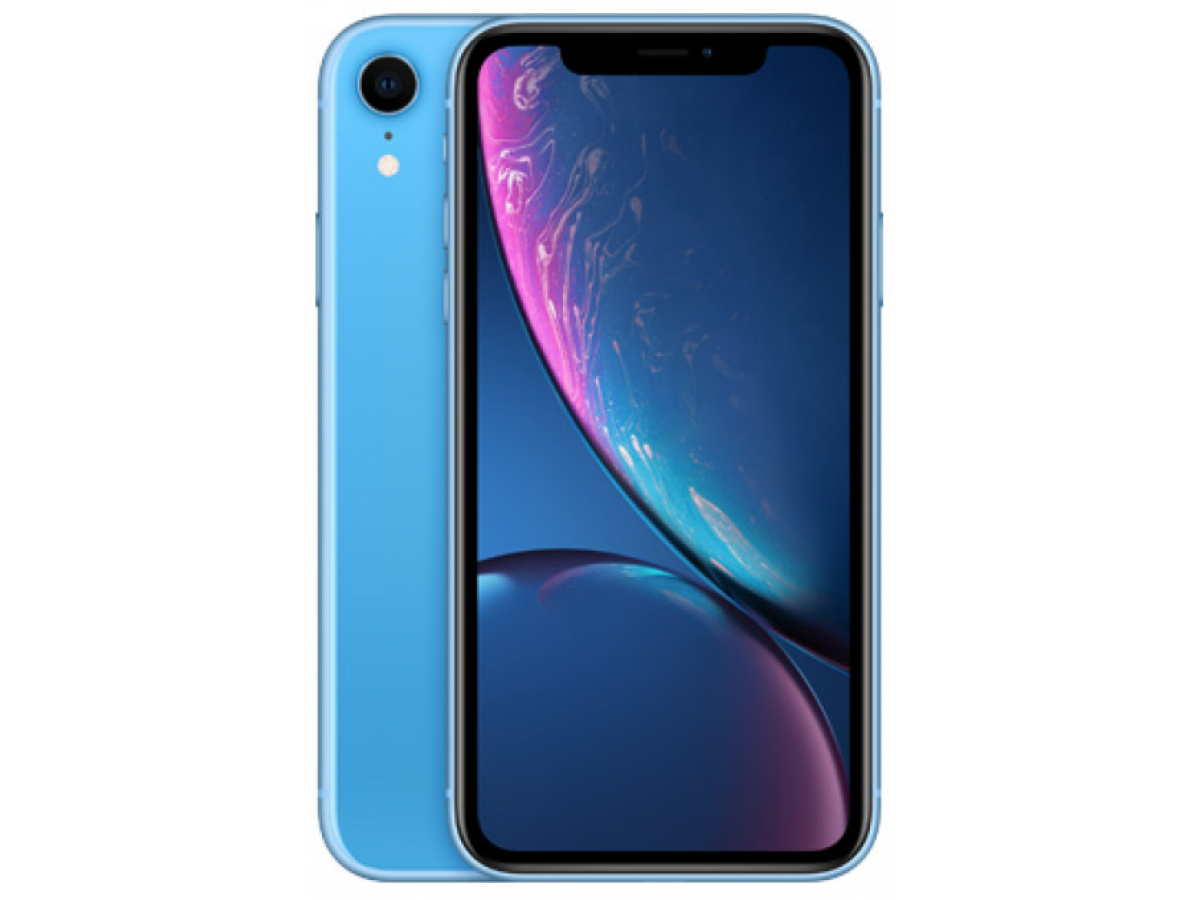 Apple iPhone XR 128GB (синий) в Тюмени