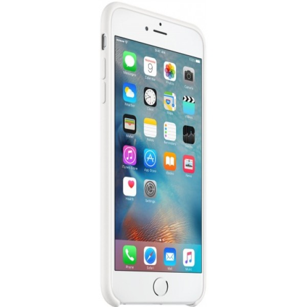 Чехол Silicone Case iPhone 6 Plus/6s Plus белый