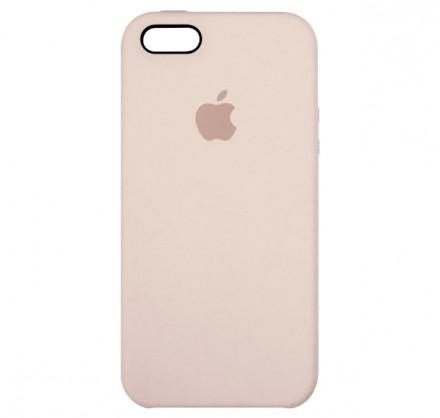 Чехол Silicone Case для iPhone 5/5s/SE светло-розовый