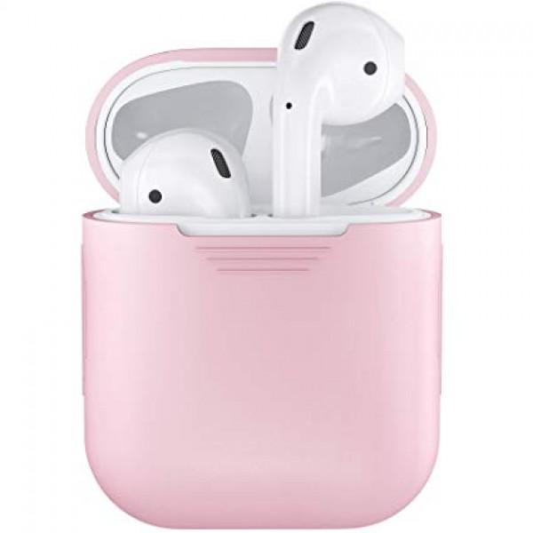 Чехол AirPods розовый