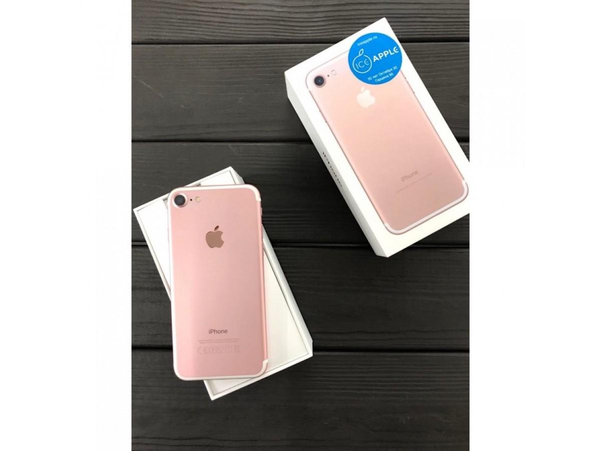iPhone 7 32Gb Rose Gold в Тюмени