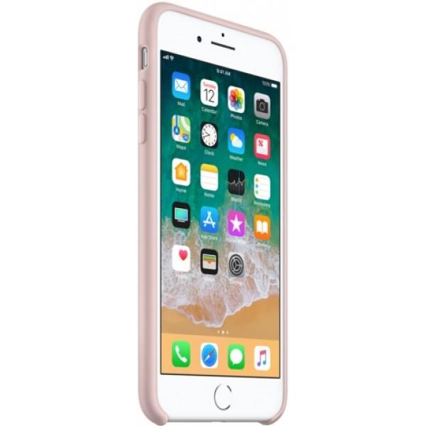 Чехол Silicone Case iPhone 7 Plus/8 Plus светло-розовый
