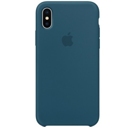 Чехол Silicone Case качество Lux для iPhone X/Xs космич...