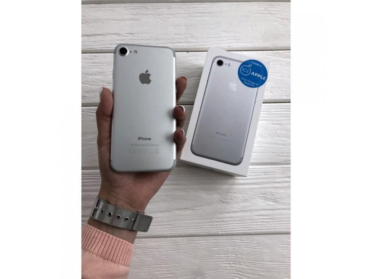 iPhone 7 32gb Silver в Тюмени