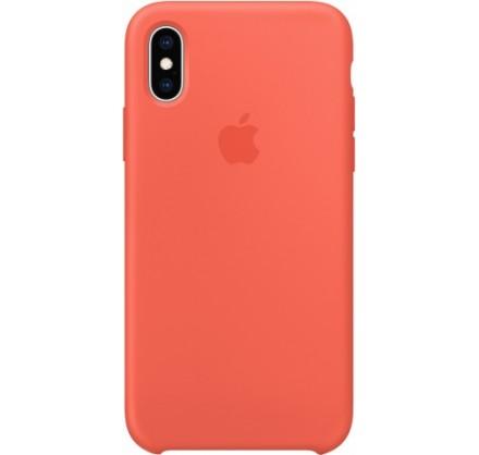 Чехол Silicone Case iPhone Xs Max оранжевый