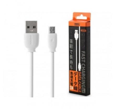 Кабель зарядки Micro-USB Remax fast 1m круглые