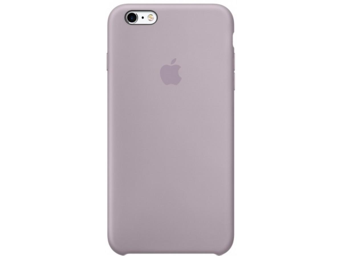 Чехол Silicone Case iPhone 6/6s лавандовый в Тюмени