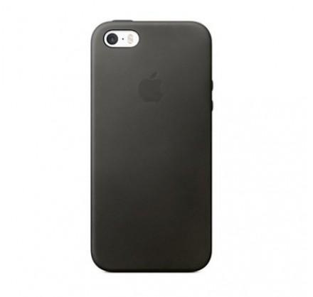 Чехол Silicone Case iPhone 5s/SE темно-серый