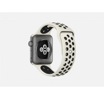 Силиконовый ремешок Apple Watch Nike 42/44мм бежевый
