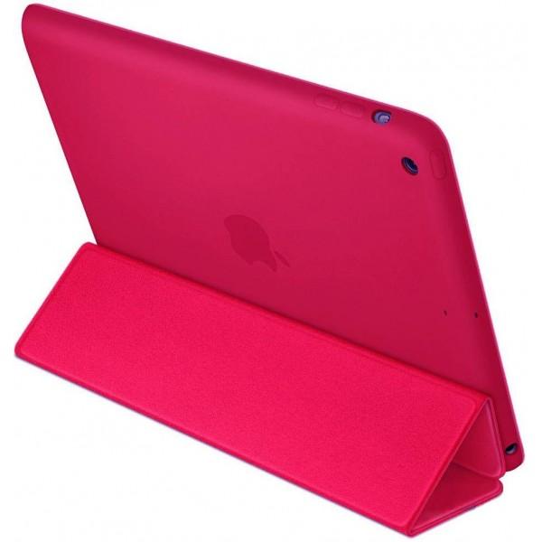 Смарт-кейс iPad mini 1/2/3 темно розовый