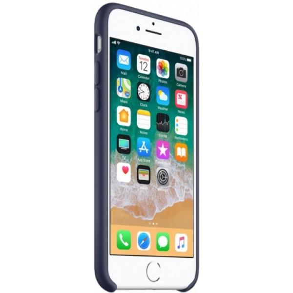 Чехол Silicone Case iPhone 7/8 темно синий