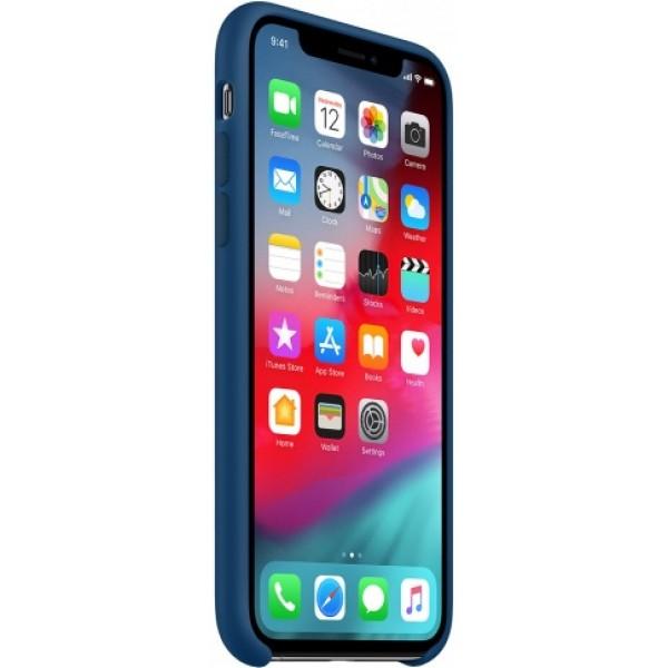 Чехол Silicone Case качество Lux для iPhone XR морской горизонт