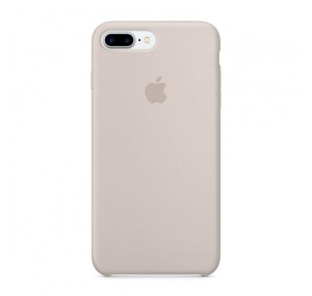 Чехол Silicone Case iPhone 7 Plus/8 Plus светло-серый