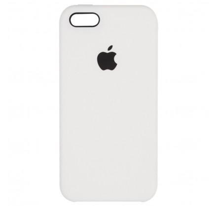 Чехол Silicone Case для iPhone 5/5s/SE белый