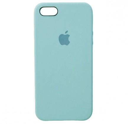 Чехол Silicone Case iPhone 5s/SE бирюзовый