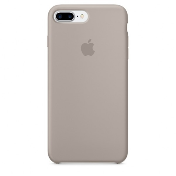 Чехол Silicone Case iPhone 7 Plus/8 Plus серый