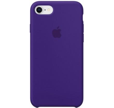 Чехол Silicone Case iPhone 7/8 фиолетовый