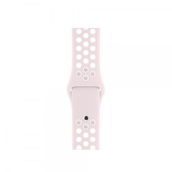 Силиконовый ремешок Apple Watch Nike 42/44мм розовый