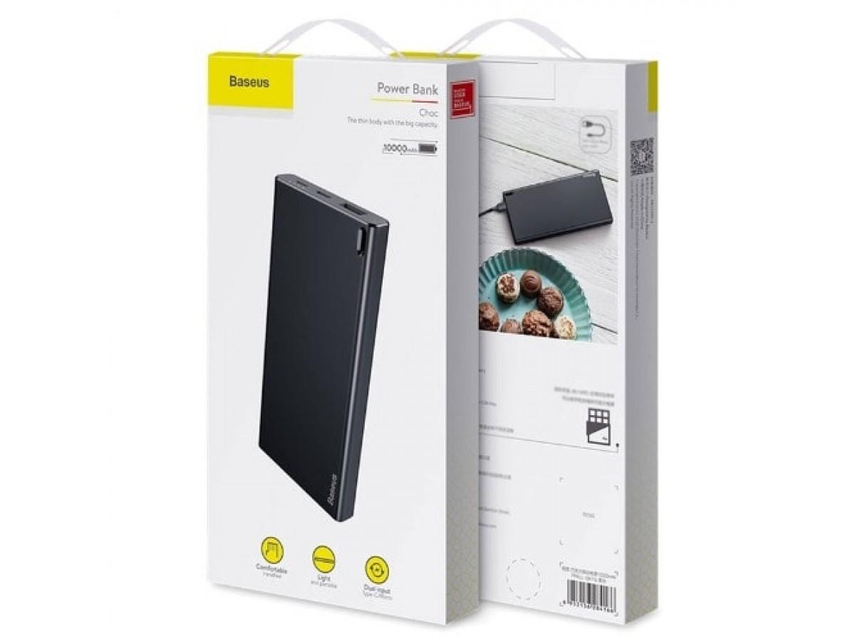 PowerBank Baseus 10000mAh (черный) в Тюмени