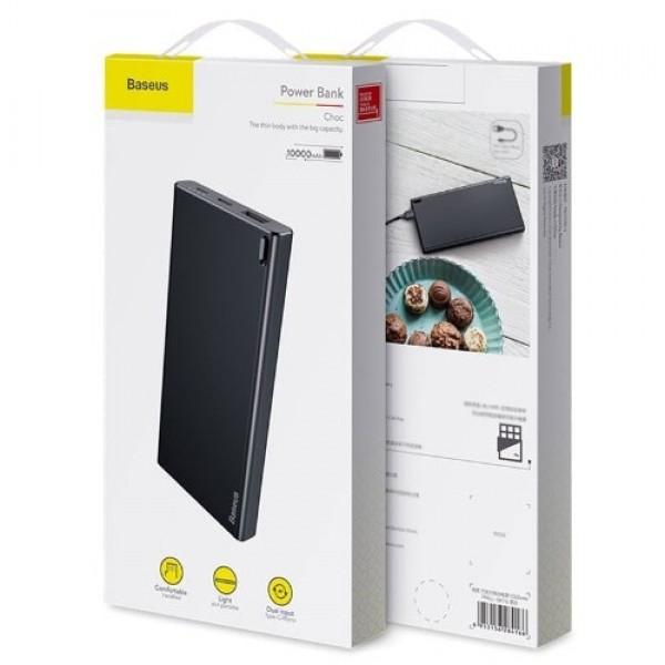 PowerBank Baseus 10000mAh (черный)