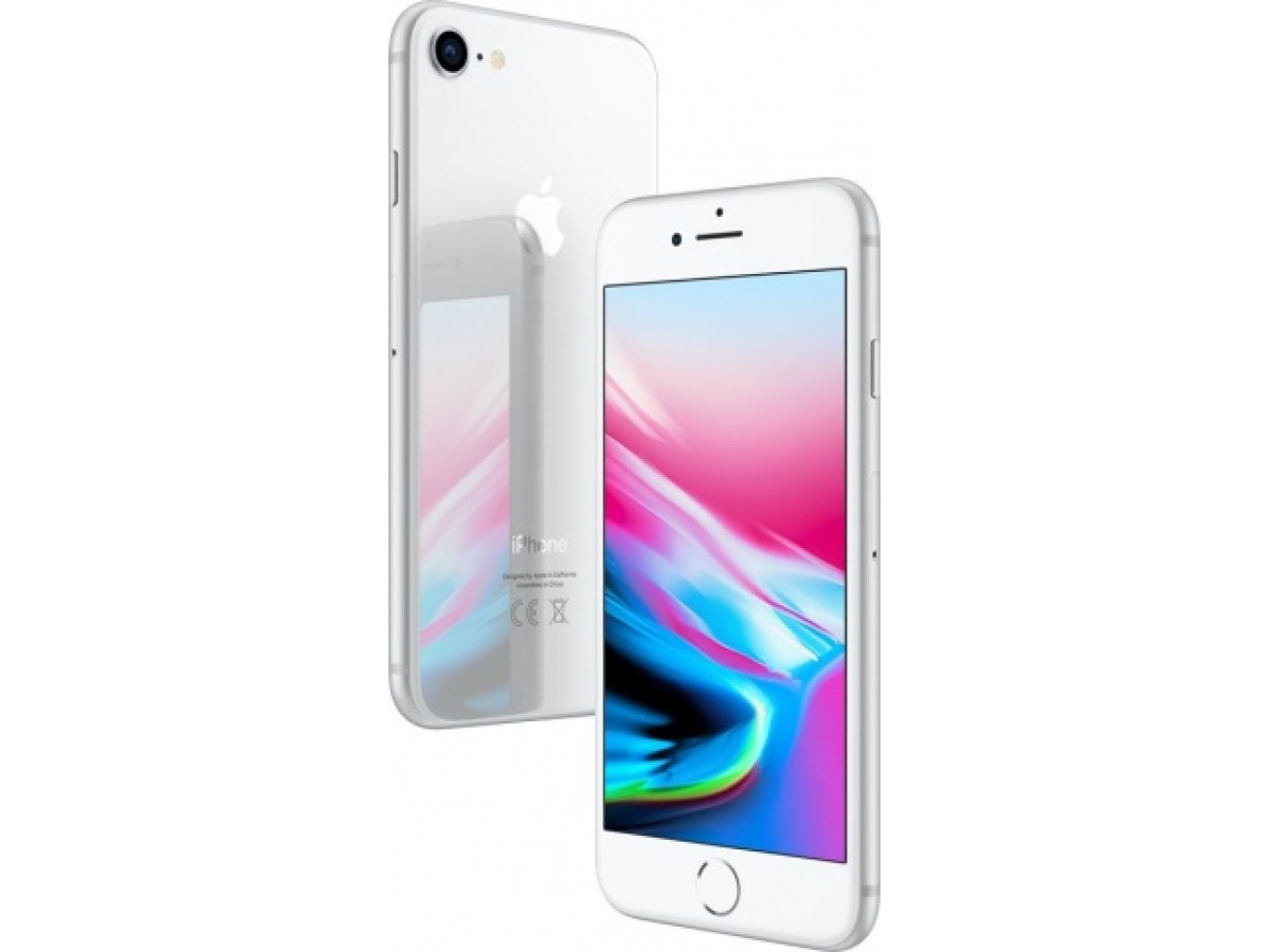 Apple iPhone 8 64GB (серебристый) в Тюмени