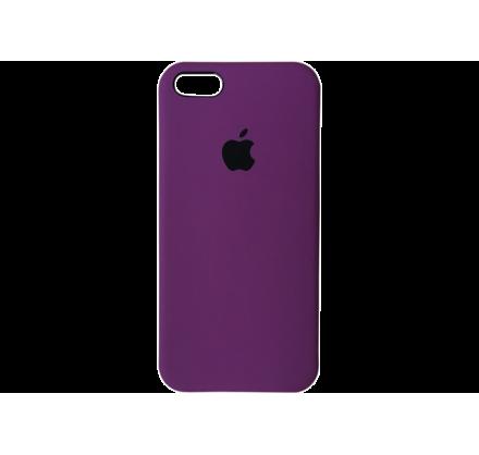 Чехол Silicone Case iPhone 5s/SE фиолетовый