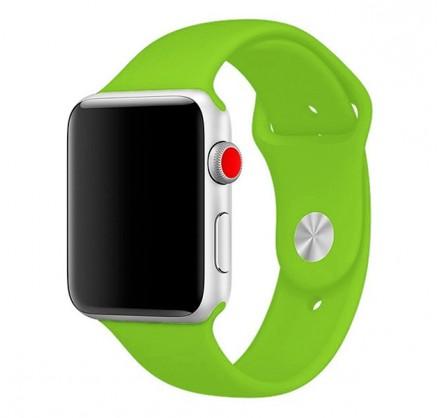 Силиконовый ремешок Apple Watch 38/40мм салатовый