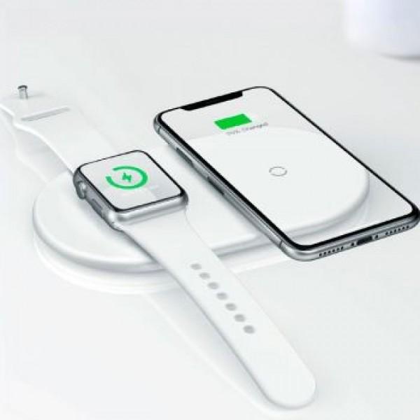 Беспроводное зарядное устройство Baseus на 2 устройства