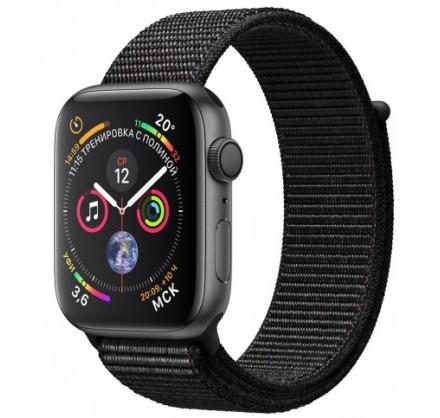 Apple Watch Series 4, 40 мм, корпус из алюминия цвета (...