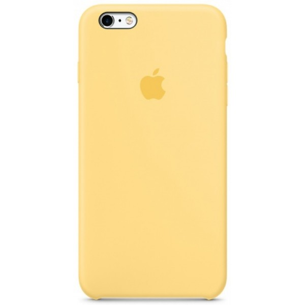 Чехол Silicone Case iPhone 6 Plus/6s Plus желтый