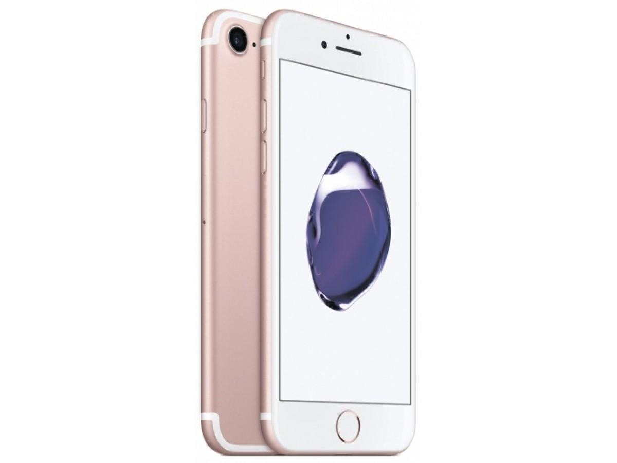 Apple iPhone 7 32GB (розовое золото) в Тюмени