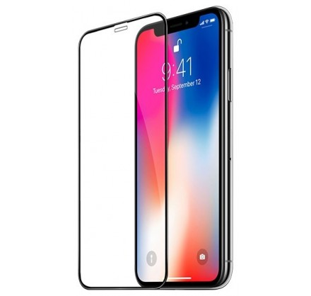 Стекло защитное iPhone X/Xs/11 Pro (3D)