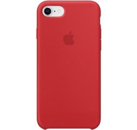 Чехол Silicone Case iPhone 7/8 красный