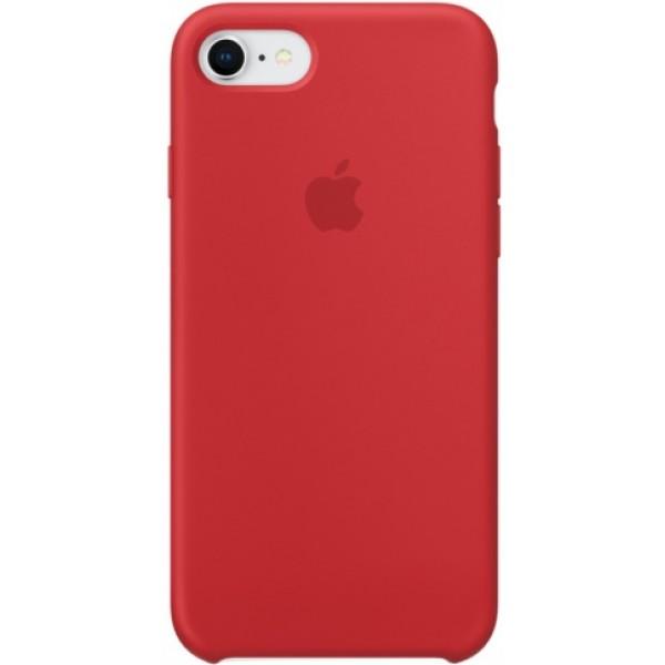 Чехол Silicone Case качество Lux для iPhone 7/8 красный