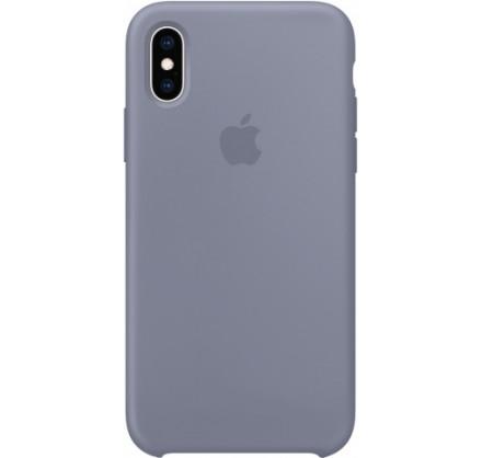 Чехол Silicone Case iPhone Xs Max темно лавандовый