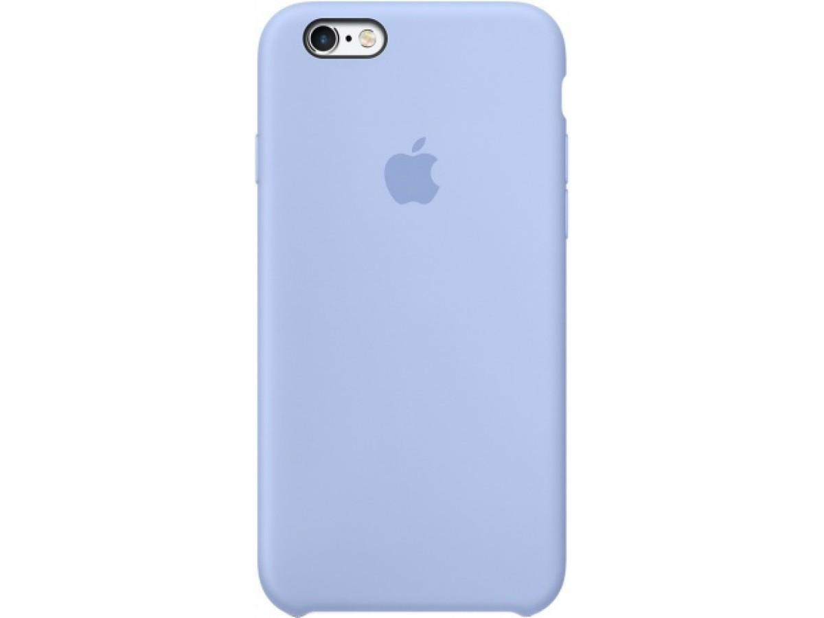 Чехол Silicone Case iPhone 6/6s светло-голубой в Тюмени